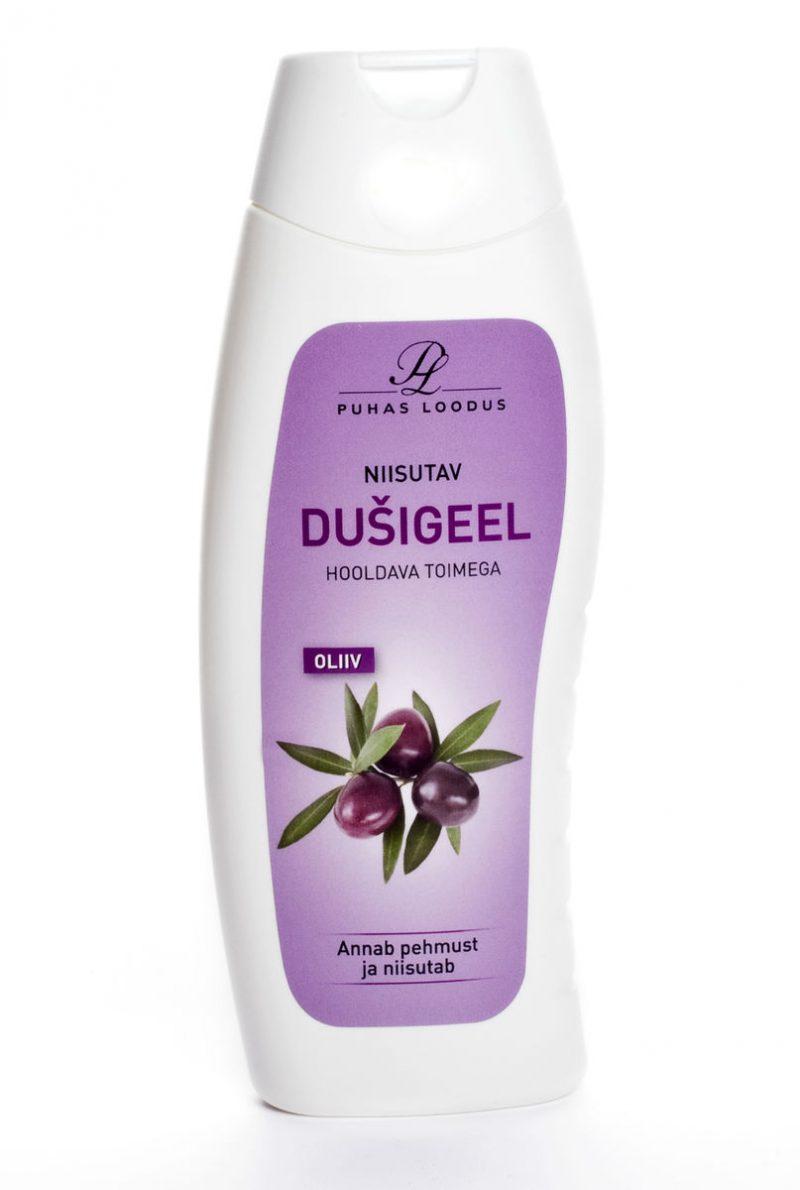 puhdas loodus kosteuttava oliivi suihkugeeli kuva